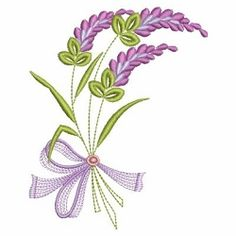 Lavender Delight 2 - 3 Sizes! | What's New | Machine Embroidery Designs | SWAKembroidery.com Ace Points Embroidery