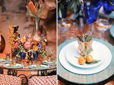 We love these #Moroccan wedding details! #moroccanwedding   MOROCCAN ...
