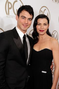 Keith Lieberthal and actress Julianna Margulies