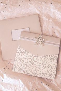 winter wedding stationery 1