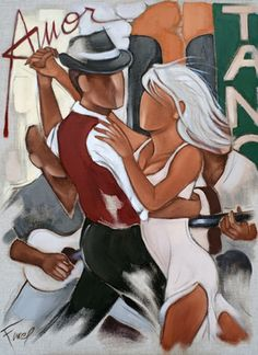 Pierre Farel's paintings portray sensual characters with refined forms set in the decor of fashionable bars which groove to the sound of dance and music. Art Pierre, Paint Photography, Poster Prints, Art Prints, Dance Art, Couple Art, Love Painting, Cool Posters, Art Pages