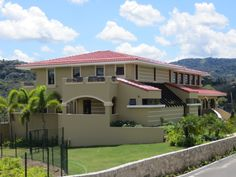 Teja Mixta Roja Transparente - Puerto Rico