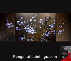 Japanese Cherry Blossom Painting