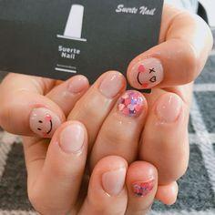 Cute nail design for short nails