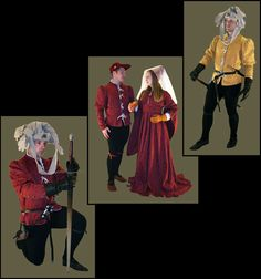 Medieval Clothing and Footwear- 15th Century Brocade Doublet