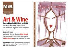 Evento Art & Wine c/o MIB Milano