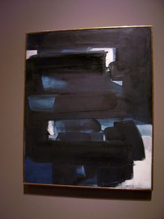 Soulages- 3 May 1962