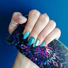 MY WORK  August 2017. #pinterestnails #nails #holidaysnails #vacationnails #glitternails #longnails