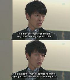 Hyun Bin knows what's up! Secret Garden. I love this drama. He is such an amazing actor.