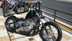 JET CUSTOM CYCLES  Yamaha Drag star bobber