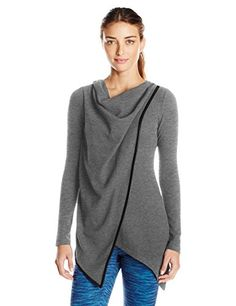 Marc New York Performance Women's L/s Asymmetric Thermal ...