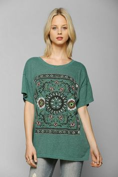 Truly Madly Deeply Folk Tale Triblend Tee #urbanoutfitters