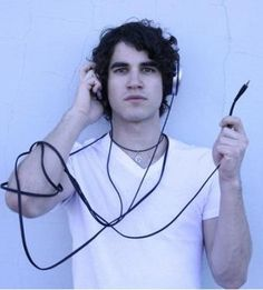 Darren Criss...unplugged. Personally, I would love to have Darren Criss... undressed. Haha!