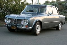 1967 Alfa Romeo Giulia Super - my first car - and still my favourite