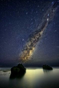 Milky Way over South Carolina USA