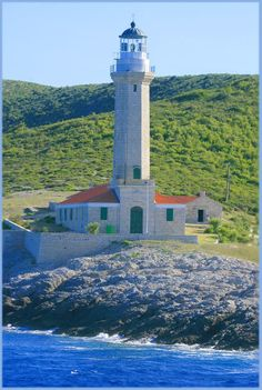 Vis island lighthouse, Croatia