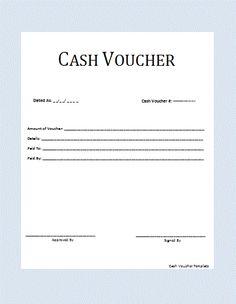 Cash Voucher Template Voucher Sample, Voucher Template Free, Certificate Templates, Templates Printable Free, Free Printables, Bill Template, Letter Template Word, Reference Letter Template, Word Templates