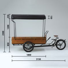 Food Stall Design, Food Cart Design, Food Truck Design, Bike Food, Mobile Cafe, Tricycle Bike, Container Cafe, Coffee Carts, Coffee Store