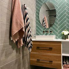 LL075 Subway Tile Green Tiles, Subway Tiles, Vanity, Bathroom, House, Ideas, Dressing Tables, Washroom, Powder Room