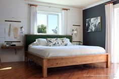 King Bed Build Plan | Our Humble Abode | Bloglovin'