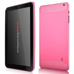 #amazon ProntoTec 9 Inch HD Android Tablet PC, Cortex A9 Dual Core 1.2 GHz, HD (1024 x 600 Pixel) Touch Screen, Android 4.2 OS, 8G Nand Flash, DDR3 1GB RAM, Dual Cameras, Wi-Fi, G-Sensor (Pink) - $47.99 (save 72%) #prontotec #axcelle #personal