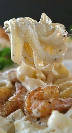 Cajun Shrimp Fettuccine Alfredo
