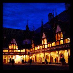 Hospices de Beaune by Night