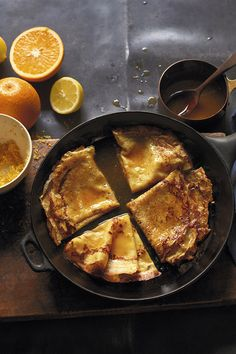 Classic crepe suzette drizzled with a zesty orange and cointreau sauce. Easy to make and simply delicious, find this Waitrose recipe for crepe suzette at waitrose.com/recipes