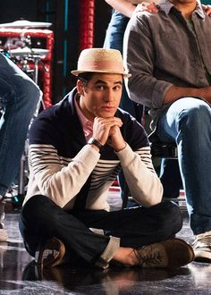Darren Criss as blaine anderson - glee