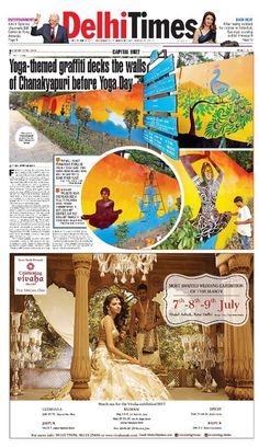 Celebrating Vivaha Featured in Times Of India, #Delhi Edition for its Upcoming Grand #WEDDINGEXHIBITION.  Catch the Latest trends in #CLOTHING and #JEWELLERY from the finest designers of #FASHION industry at Hotel The Ashok , New Delhi, India on 7th, 8th & 9th July 2017.  For Queries Visit at : www.vivahaexb.com/upcoming-wedding-exhibition-in-delhi or Contact: 09811923456  #News #Clothes #Jewelry #DiamondJewellery #GoldJewellery #Bridal #Exhibition #BridalDresses #WeddingExpo…