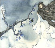 Folk tale from Switzerland - La rose de la Béroche