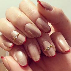 セルフでも簡単♡指先に指輪をはめたような〈リングネイル〉が女子に大人気! | GIRLY