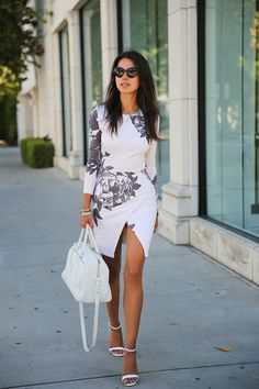 FITTED FLORAL - VivaLuxury
