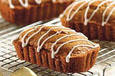 Mini Cinnamon Graham Loaves Recipe