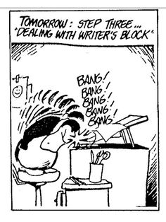 Opus has the solution Writing Humor, Fiction Writing, Bill The Cat, Berkeley Breathed, Creative Arts Therapy, Story Poems, Comics Love, A Writer's Life, Writer's Block