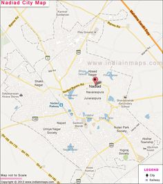 Nadiad City Map