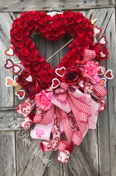 Valentine Wreath by Ba Bam Wreaths