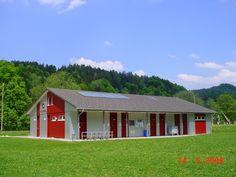 FC Bauma Cabin, House Styles, Home Decor, Pavilion, Decoration Home, Room Decor, Cabins, Cottage, Home Interior Design