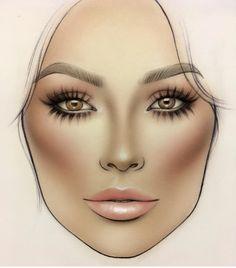 Mac makeup looks, best mac makeup, love makeup, makeup inspo, best makeup p Paper Makeup, Makeup Art, Eye Makeup, Mac Face Charts, Makeup Face Charts, Lime Crime Makeup, Beauty Blender Dupe, Makeup Inspo, Makeup Inspiration