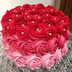 Cake Beautiful Valentines 23 Ideas For 2019 Creative Cake Decorating, Birthday Cake Decorating, Cake Decorating Techniques, Cake Birthday, Beautiful Birthday Cakes, Beautiful Cakes, Amazing Cakes, Valentine Cake, Valentines