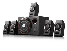Blend fine Design with Powerful Sound! Buy F&D F3000U 5.1 Multimedia Home Theatre Speaker for Rs 4,399 at Amazon India  #FendaAudio #HomeTheatre #Speakers #Shopping #india #Deals #Offers
