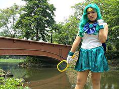 Sailor Neptune with Deep Aqua Mirror