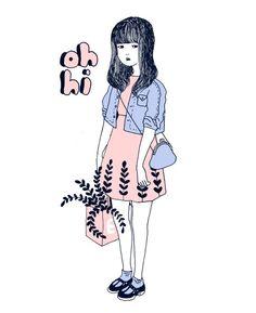 oh hi #art #drawing #illustration