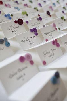 Detalles de bodas bonitas: El Sitting Plan o Como distribuir a los invitados por las mesas