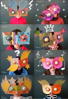 http://minikportakal.blogspot.com.tr MiNiK PoRTaKaL: Anasınıfı Çocuklarına Yaptırılabilecek Yaratıcı Maskeler...