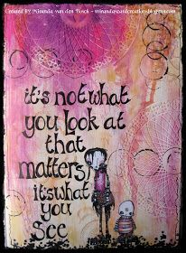 miranda's creations: It's not what you look at that matters...