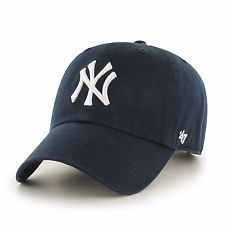 New York Yankees '47 Brand MLB Navy Clean Up Adjustable Cap
