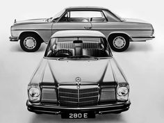 mesmomeugenero: Mercedes 280 E / Mercedes 220, Mercedes E Class Coupe, Mercedes Benz Classes, Mercedes W114, Mercedes Benz Cars, Audi, Porsche, Jaguar, Bugatti