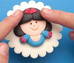 Cupcake da Branca de Neve - Bolsa de Mulher