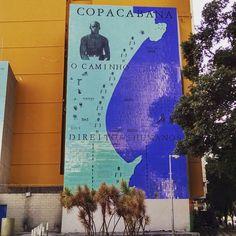 Seguindo o meu caminho. #BomDia #GoodMorning #sigaoseucaminho #SigaEmFrente #Copacabana #Rio #Copa #RioDeJaneiro #paz #peace #DireitosHumanos #RJ #HumanosDireitos #vbatalha